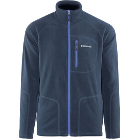 Columbia Fast Trek II Giacca in pile con zip intera Uomo, collegiate navy